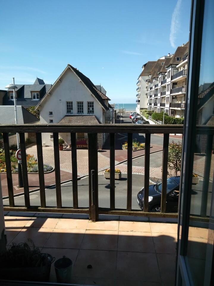 Appartement charmant avec vue mer !