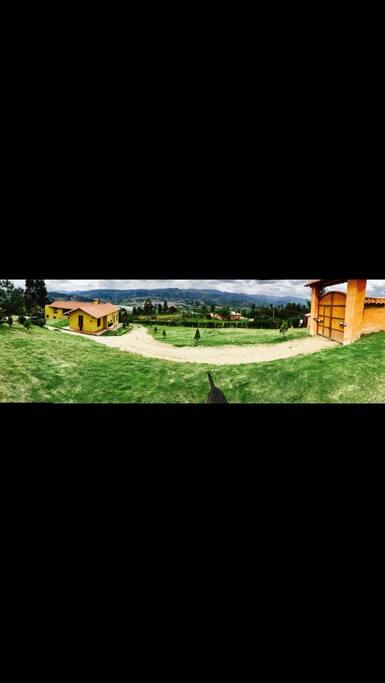 La naturaleza y paisaje andino.