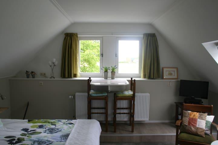 Bovenkamer (achter) De Borg: knus, ruim, landelijk - Winterswijk Ratum - Bed & Breakfast