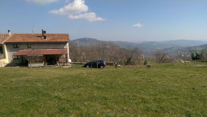 Casa in affitto - Montecopiolo - Montecopiolo - บ้าน