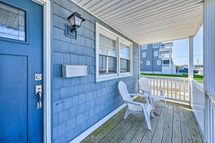 NEW! Newly Renovated Brigantine House w/ Bay View!