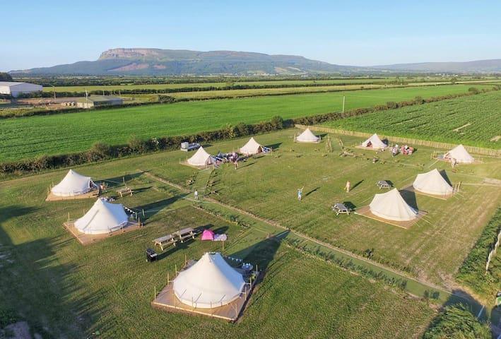 Carrowmena Luxury Bell Tents