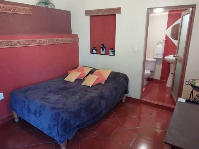 Cómoda y bonita habitación rústica
