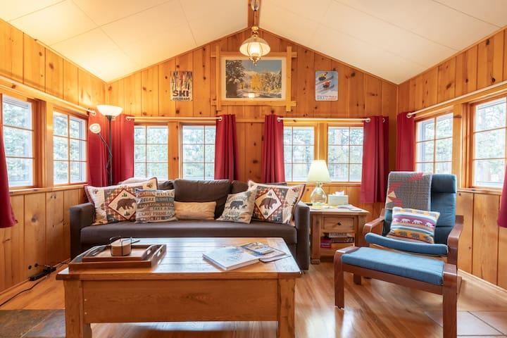 Sunny family room.