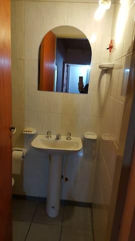 Baño equipado para garantizar tu privacidad
