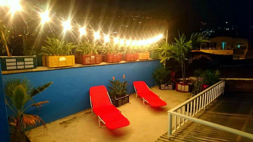 Cocora room, double room, Envigado-Medellín - Envigado - Dom
