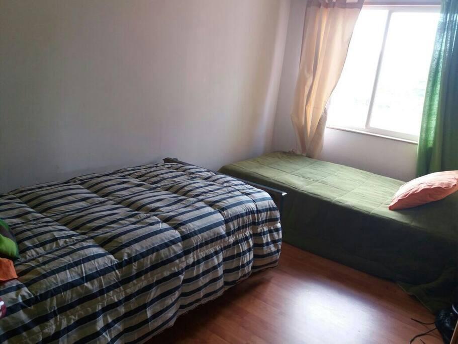 Dormitorio para 2 con baño