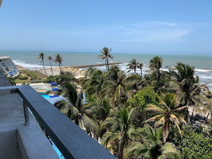 Habitación Privada, vista y acceso directo al mar