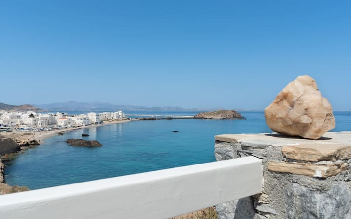 Naxos Sea and Sunset Romantic Getaway Suite