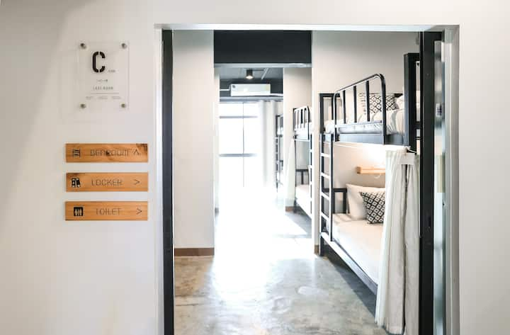 "Jeune Hostel Chiang Mai, ""C - Mixed Dorm"" (8beds)"