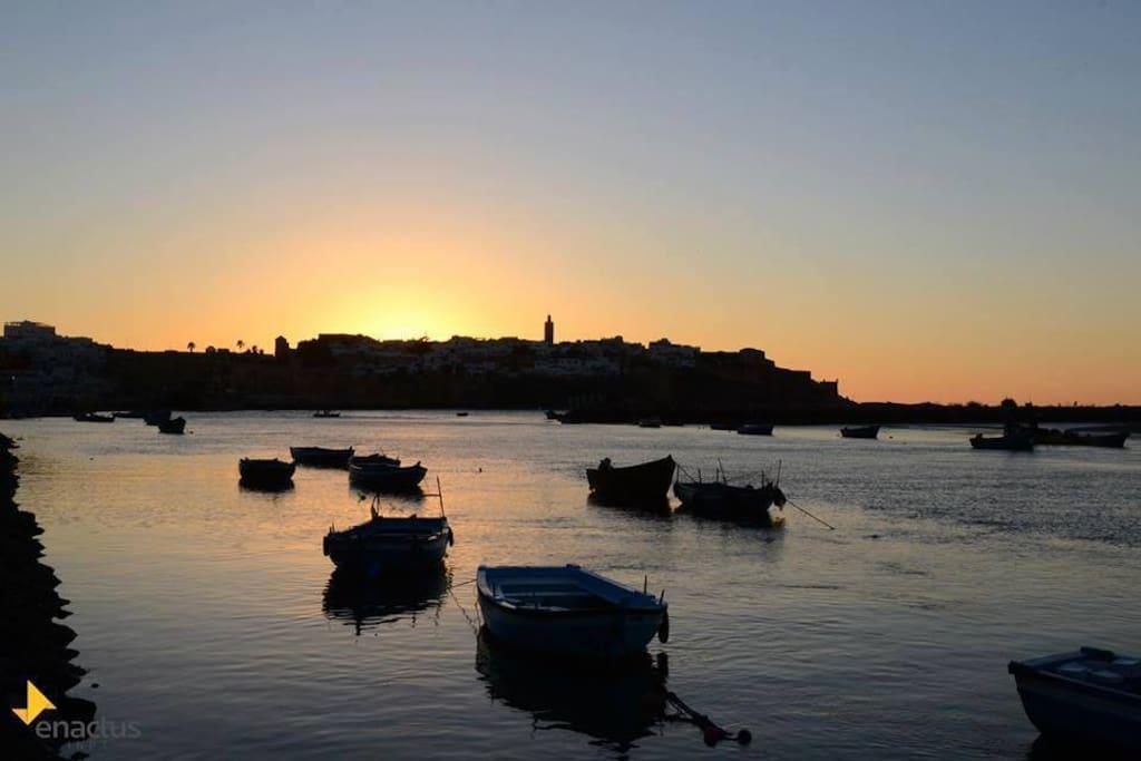 Une ville historique au bord de la mer Rabat