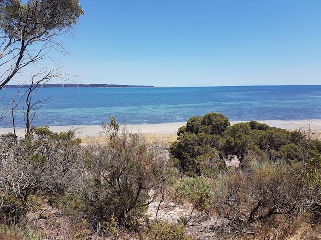 Quiet seaside village on Kangaroo Island