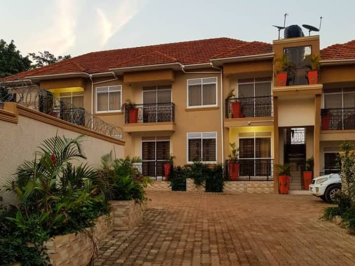 Modern Apartment in Kampala. Cozy and Convenient