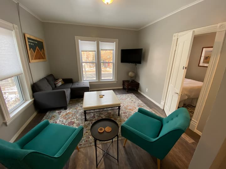Trendy Missoula living just steps from downtown