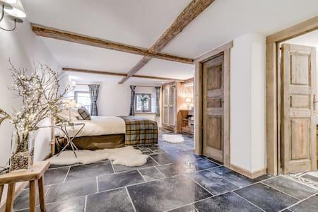 Gorgeous 1 bed duplex in Sainte Foy Station - Sainte-Foy-Tarentaise - Wohnung