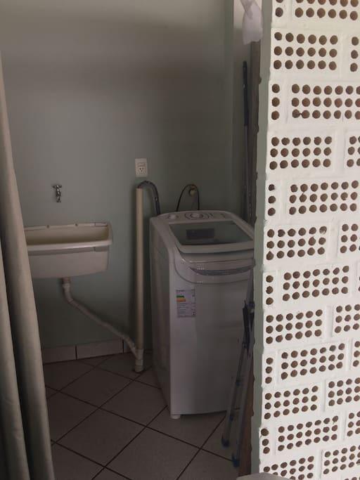 area de servico lavanderia