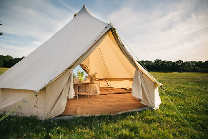 Glamping at Stokes Farm Staycation £pppn