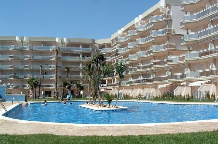 Cosy apartment with sea views, climate, parquing