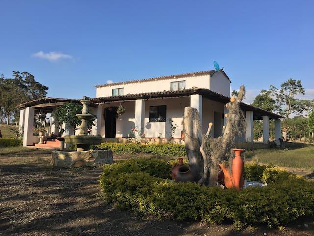 Casa campestre Mesa de los Santos - Mesa de los Santos - Huis