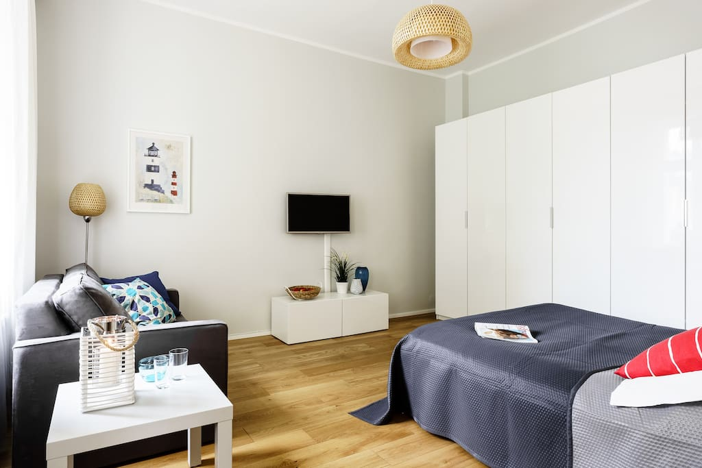 Sanhaus Apartments, noclegi Sopot