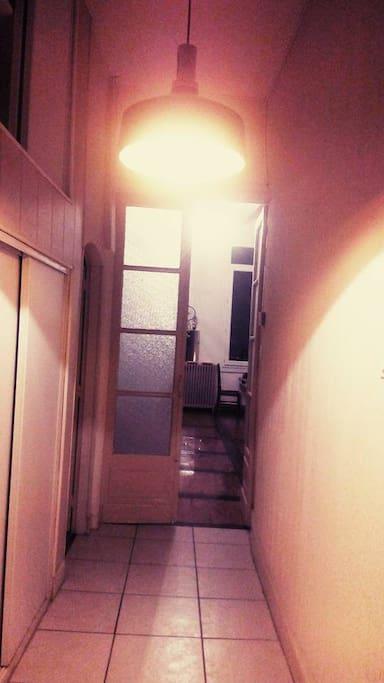 Un bout de couloir