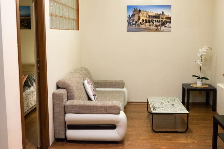 Cosy and beautiful  apartment on Kazimierz for 4