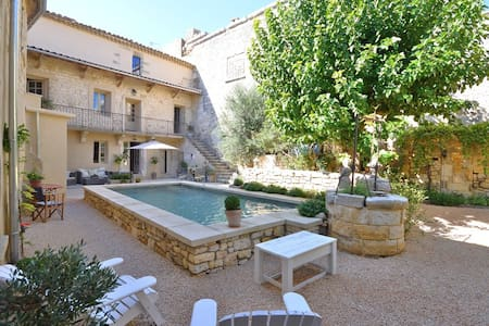Sumptuous traditional Mas near Uzes. - Blauzac - House