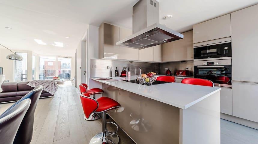 Stunning Modern Duplex Penthouse