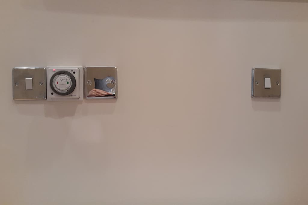 Bathroom Radiator Timers & Storage Heater Switch