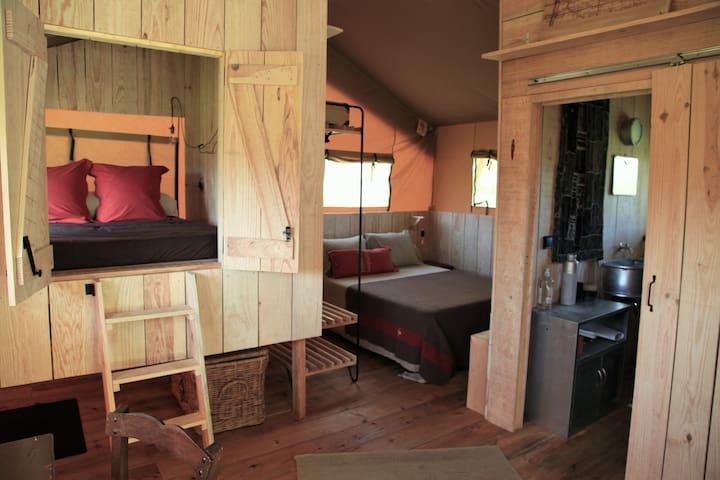 2 chambres et 1 salle d'eau