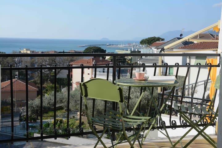 Vista mare e Relax in Pietra Ligure