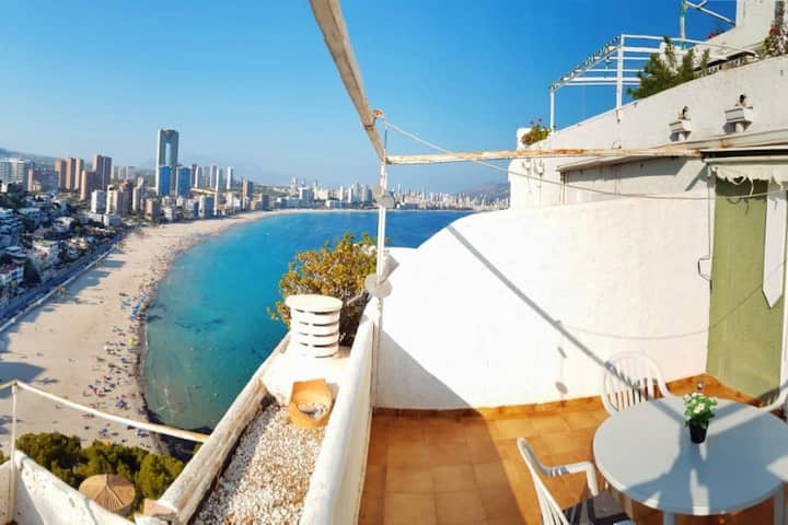 Apartment with spectacular views in Benidorm