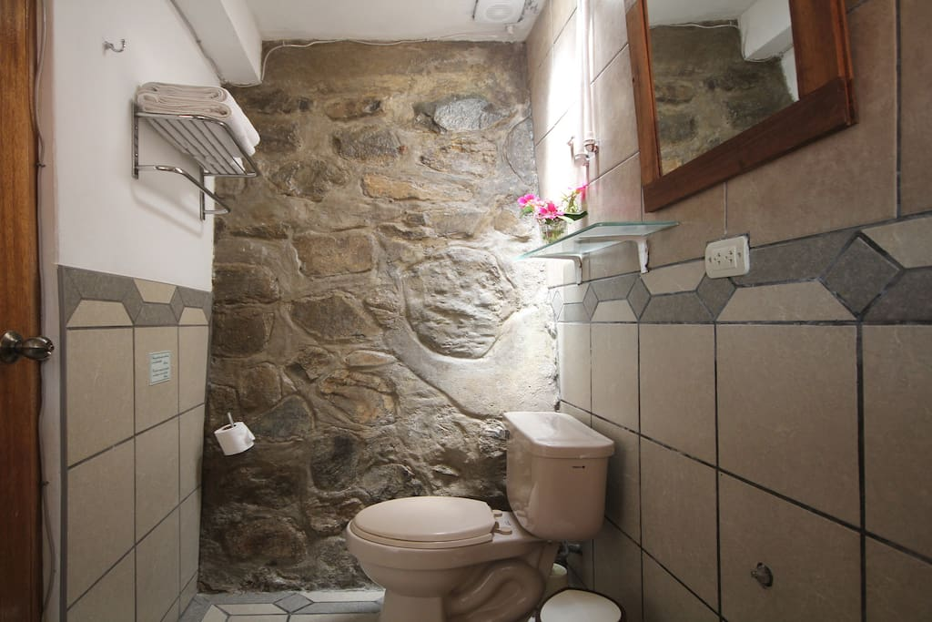 Your own bathroom within the room.