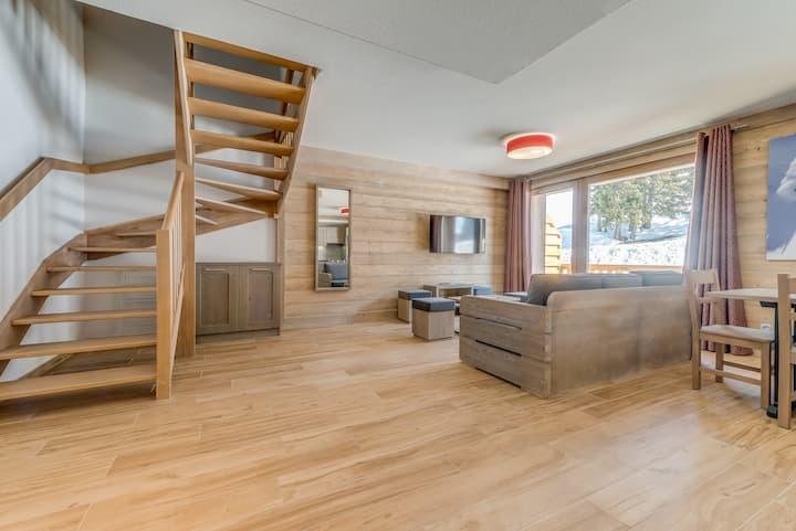 Appartement duplex n°406 ski au pied