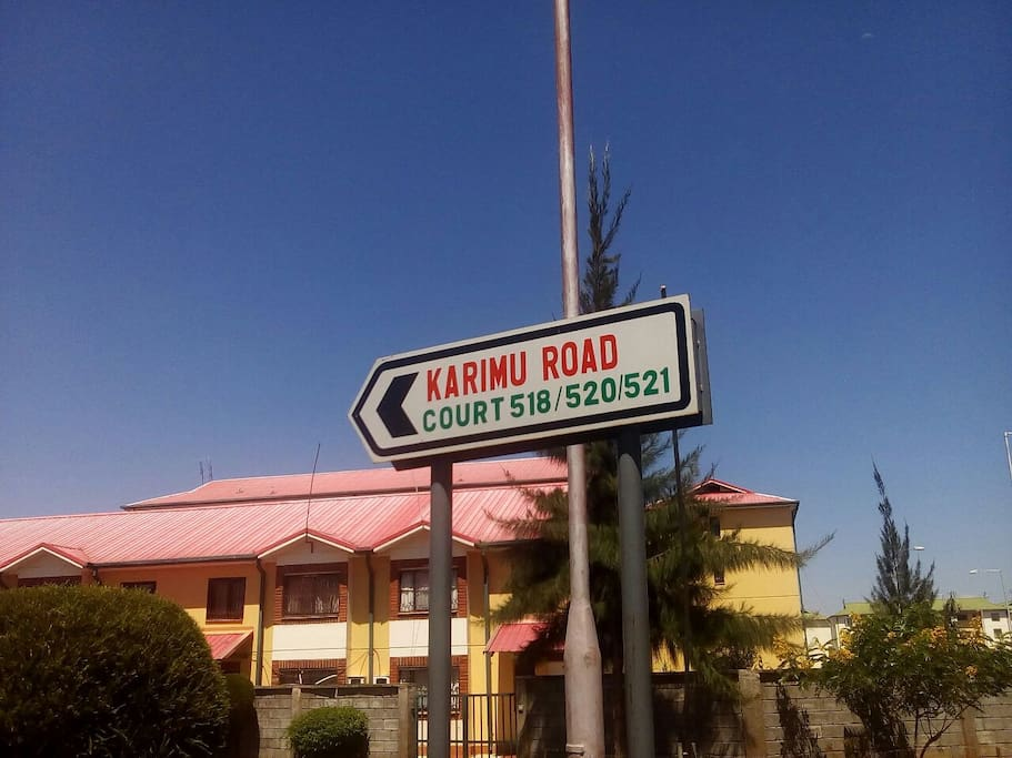 Our road