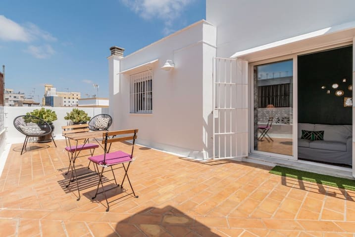 ♘ Your Airbnb's Best Choice JEREZ |Terrace|WiFi| ✈