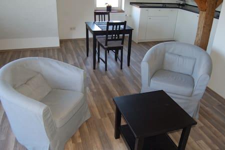 Wohnung im Fachwerkhaus mit Parkplatz - Κάσελ - Διαμέρισμα