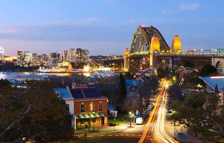Your heritage home in The Rocks, Harbour Bridge