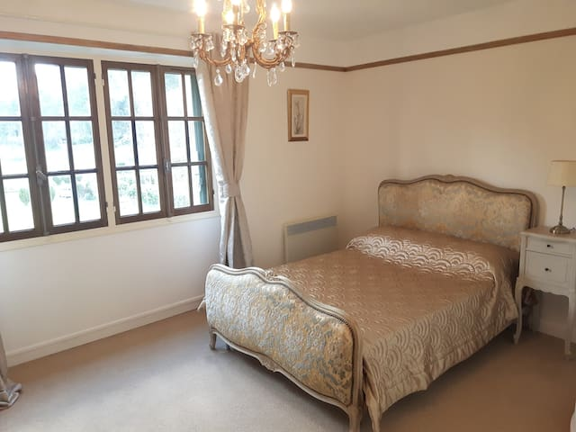 Master Bedroom with 2 double wardrobes