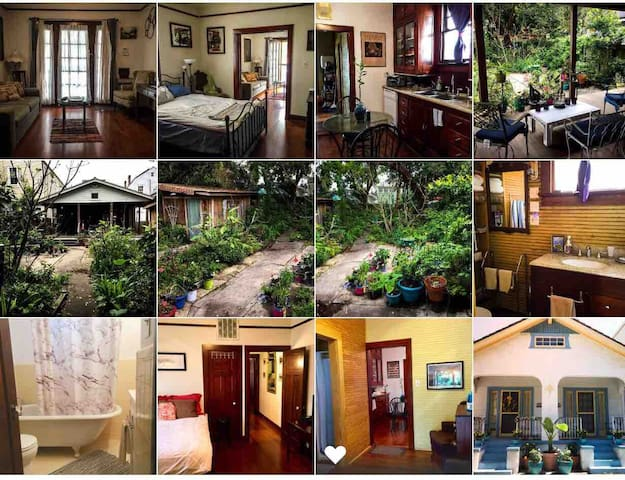 Private 2 bedroom 2 bath in the Marigny.
