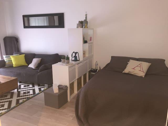 Studio dans jolie résidence - Santeny - Lejlighed