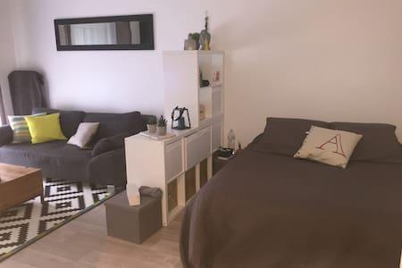 Studio dans jolie résidence - Santeny - Apartament