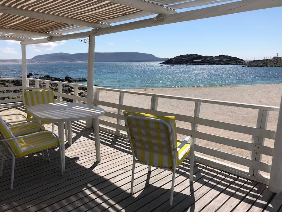 Casa en primera linea en Bahia inglesa  Terraza con vista a playa blanca  ubicación privilegiada