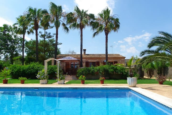 Villa Sa Marineta -Beautiful Garden-Swimingpool - Manacor - House