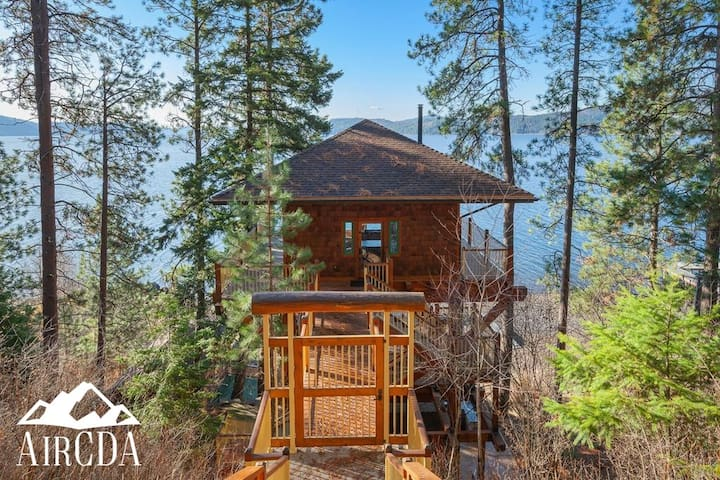 STAY HERE! Lake Coeur d`Alene Tree House Camp