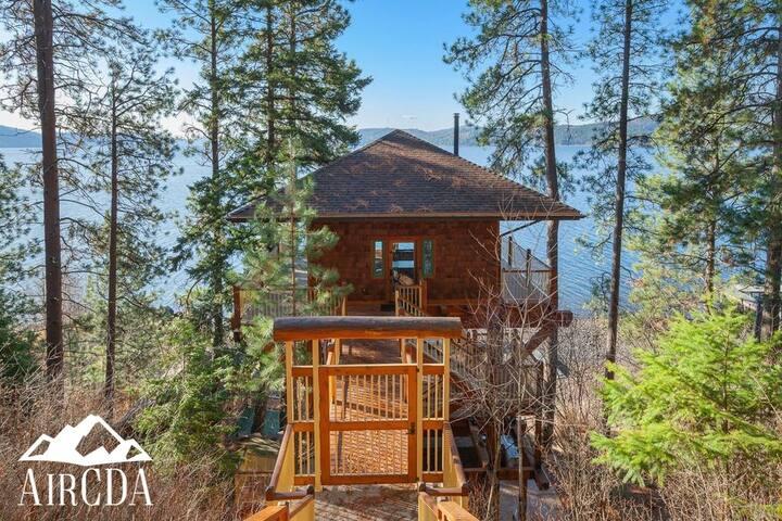STAY HERE! Lake Coeur d`Alene Tree House Camp
