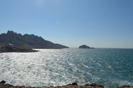 Très beau Cabanon face à la mer aux Goudes