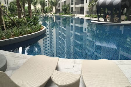Condominium Master Room with Private Bathroom - Singapura