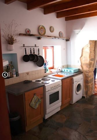 Spacious kitchen equipped with everything you need for your self catering holiday.
