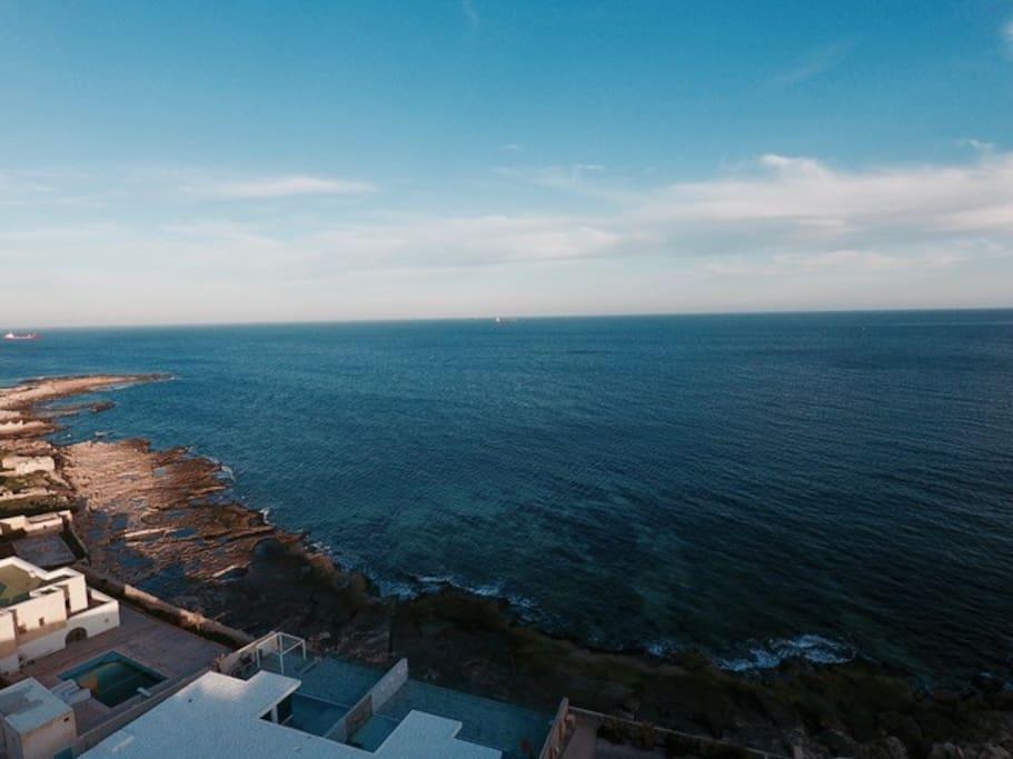 Un-obstructed Sea Views